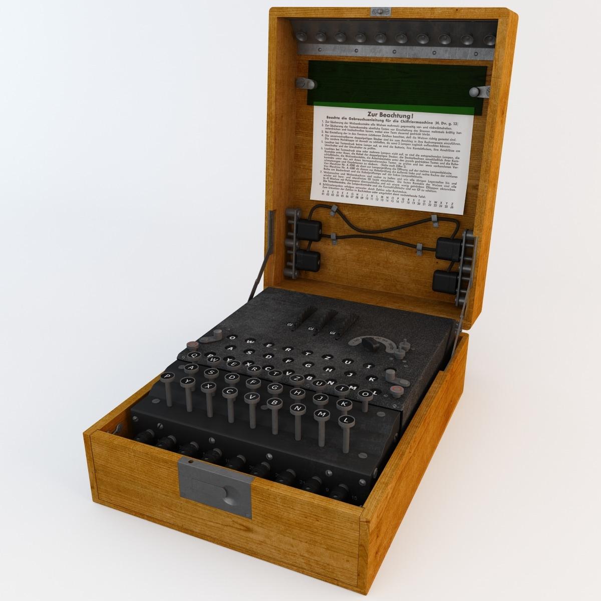 wwii encryption machine