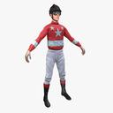 Jockey 3D models