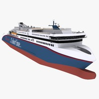 3d cruise ferry