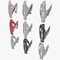 3d model bicycle bottle cages elite