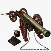 Venice Bronze Cannon XVII -  XVIII Century - Culverin