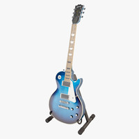 gibson les paul manhattan 3d model