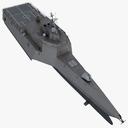 Littoral Combat Ship 3D models