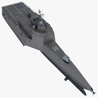 3d model lcs-2 littoral combat ship
