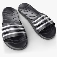 modern sandal obj