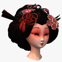 Geisha Head