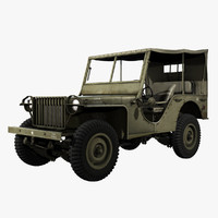 United States WWII Bantam BRC 40 Light Vehicle