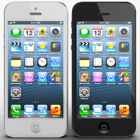 apple iphone 5 3d max