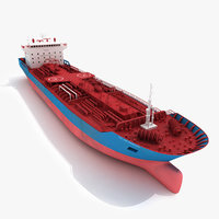 tanker ship 3D models