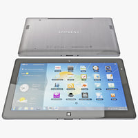 3d model samsung series 7 tablet
