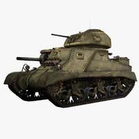 United States WWII M3 Grant I Medium Tank