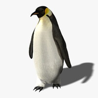 Penguin (RIGGED)  (FUR)