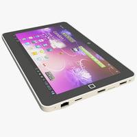3d model m1050 tablet