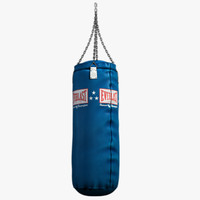model punching bag