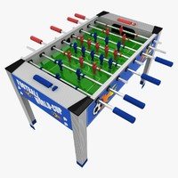3d football table ball