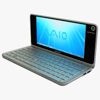 white sony vaio p 3ds