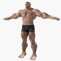 original character superheroes 3d model
