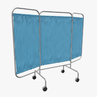 Folding Screen 3D models