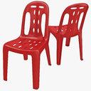 monobloc chair 3D models