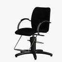 barber chair 3D models