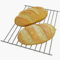 3d bread 2 model