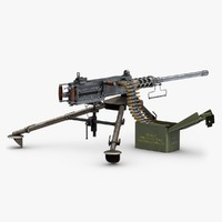Machine Gun M2 Browning