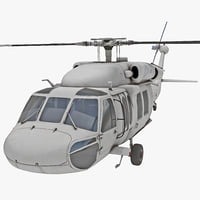 3d eh-60 black hawk 2 model
