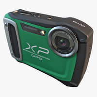 3d 3ds fujifilm xp170 compact digital camera