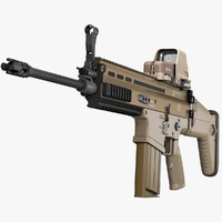 Assault Rifle FN SCAR-H STD 7,62
