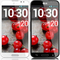 LG Optimus G Pro Black and White