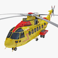 Rescue Helicopter CH-149 Cormorant 2