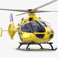 Eurocopter EC 135 Emergency Helicopter