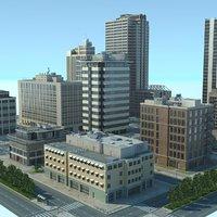 max city cityscape