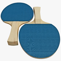 ping pong paddle 3d model