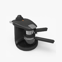 maker coffee coffeemaker 3d model
