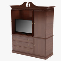 Entertainment Center 3D models