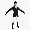 Equestrian 3D models