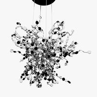 Terzani Argent ceiling lamp