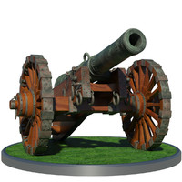 Medieval XVII th Cannon