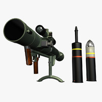 3ds max carl gustav recoilless rifle