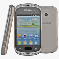 grey samsung galaxy 3d model