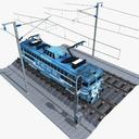 Electric multiple unit 3D models