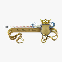Spear And Crown Pointer