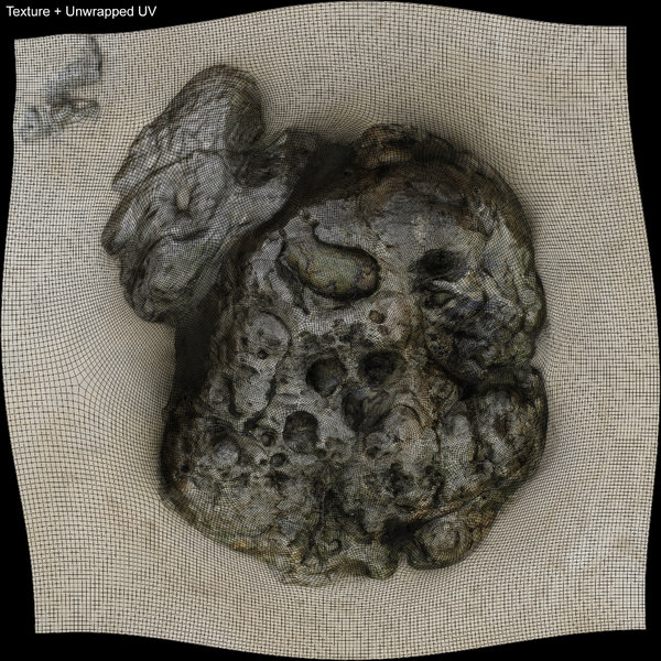 3d scan rock model - Rock 3D Scan 03... by ibl3d