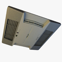 wall mounted air conditioner 3D models