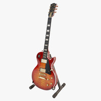 3ds max gibson les paul supreme
