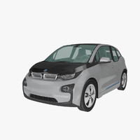 3ds max bmw i3 2014