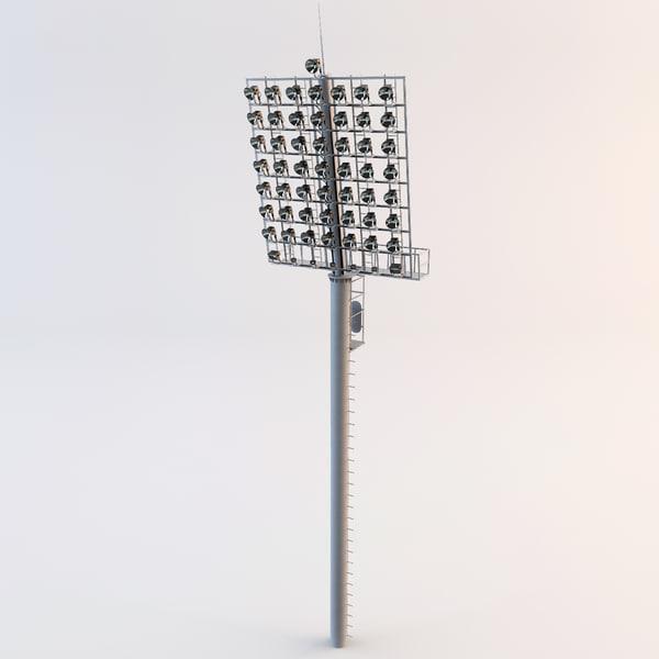 Maya Stadium Lights 3