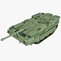 Stridsvagn 103 Swedish Battle Tank v2