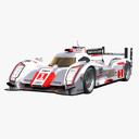 Audi R18 3D models